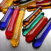 Дизайн и реклама ручной работы. Ярмарка Мастеров - ручная работа 50 гр.! «Разноцветные палочки» Мозаика стеклянная.. Handmade.
