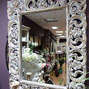 """Для дома и интерьера ручной работы. Ярмарка Мастеров - ручная работа Зеркало  """" БЕЗЕ"""". Handmade."""