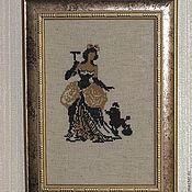 """Картины и панно ручной работы. Ярмарка Мастеров - ручная работа Картина """" Дама"""". Handmade."""