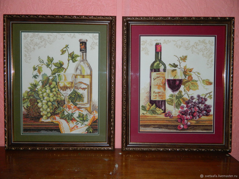 Вино и виноград, Картины, Кронштадт,  Фото №1