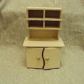 Материалы для творчества ручной работы. Ярмарка Мастеров - ручная работа 555 Горка (кукольная мебель). Handmade.