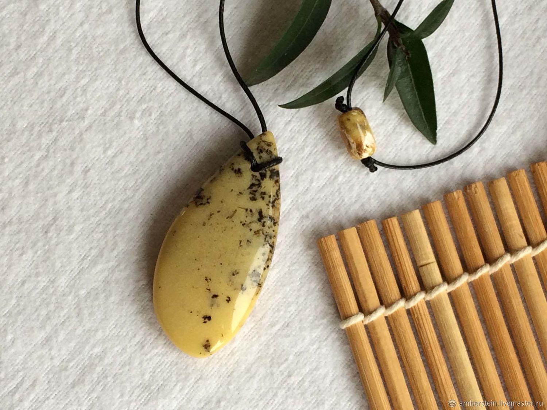 Pendant from the solid Baltic amber, 8 g, Pendants, Kaliningrad,  Фото №1