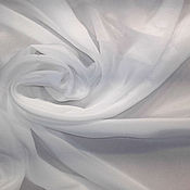 Ткани ручной работы. Ярмарка Мастеров - ручная работа Крепдешин, 140 см 12 мм, шелк для батика, креп. Handmade.