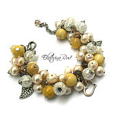 Украшения handmade. Livemaster - original item lush bracelet
