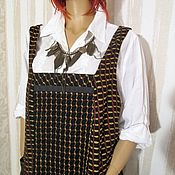 Одежда handmade. Livemaster - original item Sleeveless winter wool. Handmade.