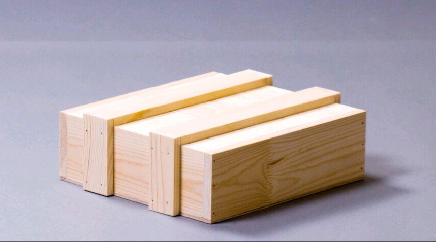 Ящик - сундук деревянный 28,5 на 25 на 11см, сосна, подарочный ящик, Шкатулки, Ижевск,  Фото №1