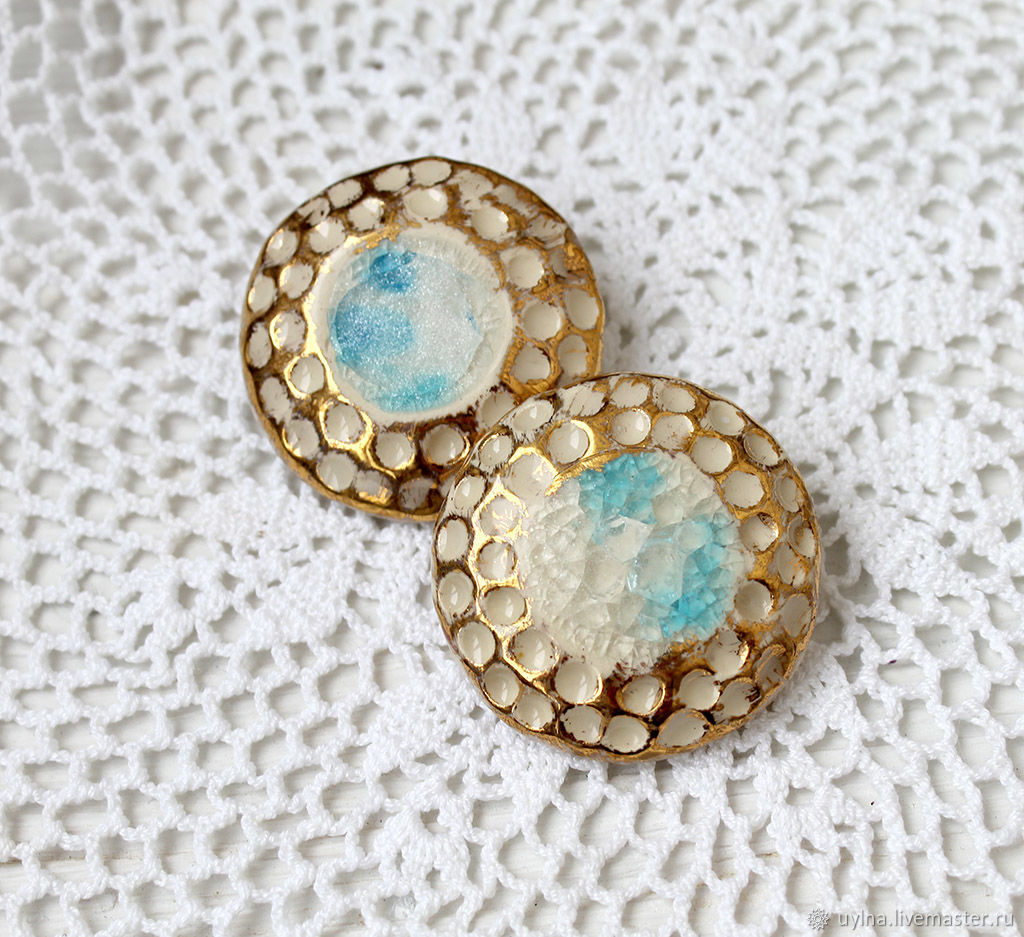 Brooches handmade. Livemaster - handmade. Buy Brooch 'Princess of the light court' ceramics.White, gifts for women
