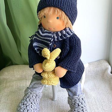 Куклы и игрушки ручной работы. Ярмарка Мастеров - ручная работа Ваня - вальдорфская куколка. Handmade.
