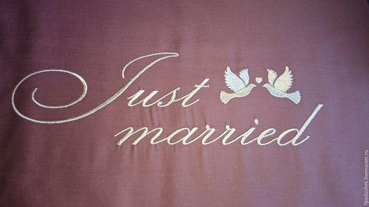 Подарки на свадьбу ручной работы. Ярмарка Мастеров - ручная работа. Купить Подарок на свадьбу. Оригинальный подарок. Индивидуальная вышивка. Handmade.