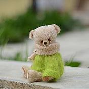 Куклы и игрушки ручной работы. Ярмарка Мастеров - ручная работа Мишка тедди Сеня, 18 см. Handmade.