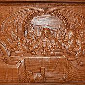 Картины и панно ручной работы. Ярмарка Мастеров - ручная работа тайная вечеря. Handmade.