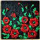 Картины цветов ручной работы. Ярмарка Мастеров - ручная работа. Купить МАКИ. Handmade. Картина с цветами, ручная авторская работа