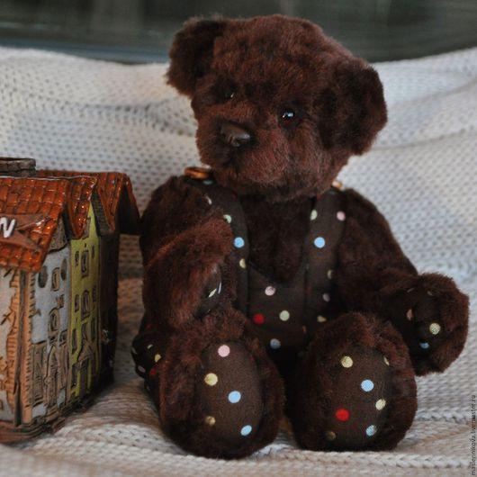 Мишки Тедди ручной работы. Ярмарка Мастеров - ручная работа. Купить Медведь Тони (17см). Handmade. Коричневый, коллекционная игрушка
