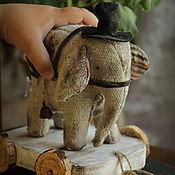 Куклы и игрушки handmade. Livemaster - original item Circus Elephant. Handmade.