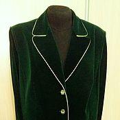Одежда handmade. Livemaster - original item suit skirt green Shagane. Handmade.