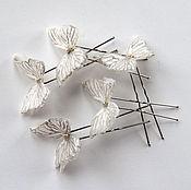 Свадебный салон ручной работы. Ярмарка Мастеров - ручная работа Бабочки в голове. Handmade.