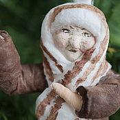 """Куклы и игрушки ручной работы. Ярмарка Мастеров - ручная работа Елочная игрушка """"Бабуля"""". Handmade."""