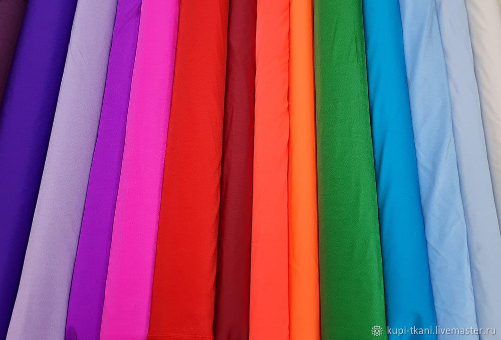 Ткань бифлекс блестящий Корея Acetex различные цвета, Ткани, Москва,  Фото №1