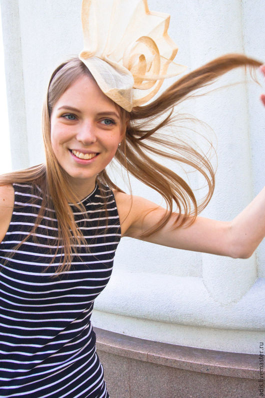 Шляпы ручной работы. Ярмарка Мастеров - ручная работа. Купить шляпка «Калла». Handmade. Белый, шляпа, Соломка, синамей