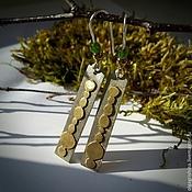 Украшения ручной работы. Ярмарка Мастеров - ручная работа Серьги №1. Handmade.
