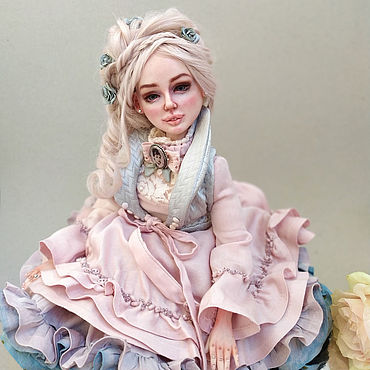Dolls & toys handmade. Livemaster - original item Anna. Gentle author`s doll. Handmade.
