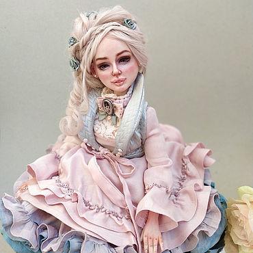 Dolls & toys handmade. Livemaster - original item Anna. Gentle author`s doll. Handmade.