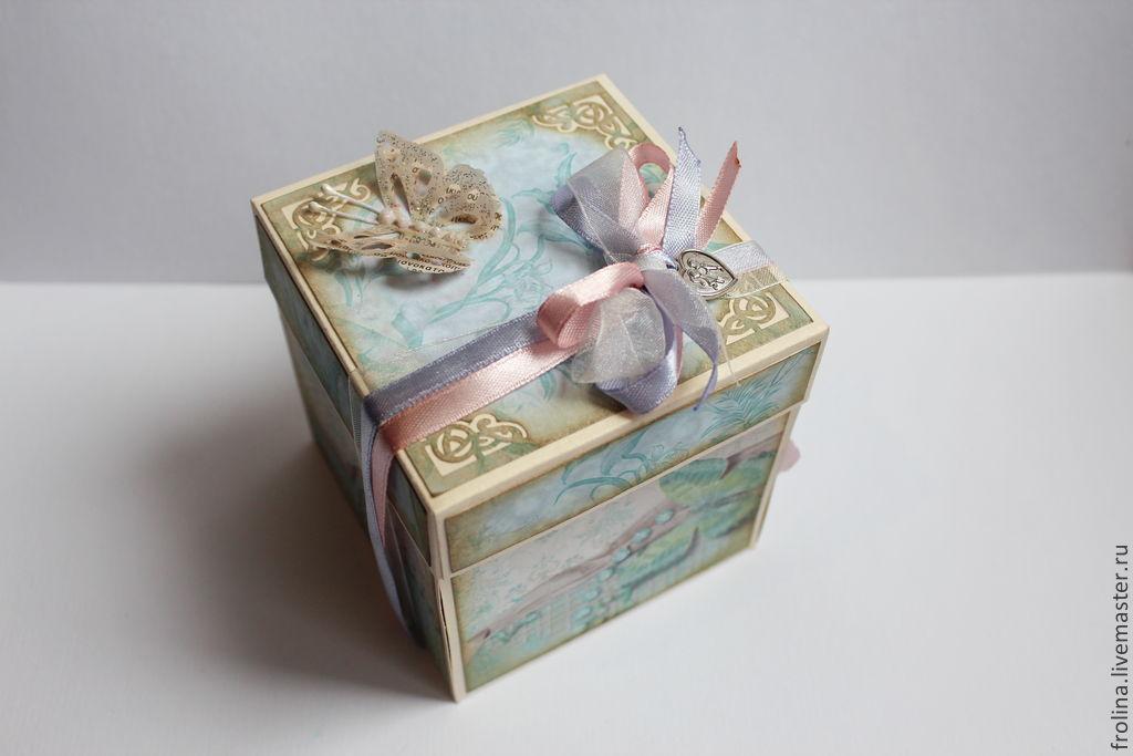 Коробка открытка на свадьбу 90