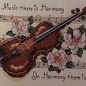 """Картины и панно ручной работы. Ярмарка Мастеров - ручная работа Вышитая картина """"Гармония"""" (Без оформления). Handmade."""