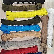 Материалы для творчества handmade. Livemaster - original item Tapes, braided elastic (rubber). Handmade.