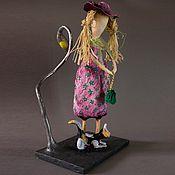"""Куклы и пупсы ручной работы. Ярмарка Мастеров - ручная работа """"Сима""""-коллекционная кукла из папье-маше. Handmade."""