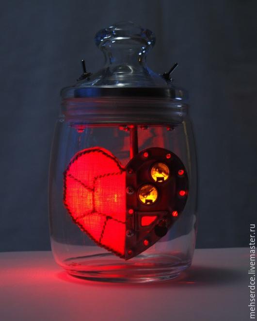 Подарки для влюбленных ручной работы. Ярмарка Мастеров - ручная работа. Купить Механическое сердце модель А. Handmade. Ярко-красный