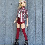 Куклы и игрушки ручной работы. Ярмарка Мастеров - ручная работа Рубашка для куклы Одежда для кукол бжд. Handmade.