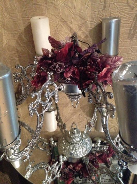 Подсвечники ручной работы. Ярмарка Мастеров - ручная работа. Купить Подсвечник на 6 свечей для круглого большого стола. Handmade. Уют