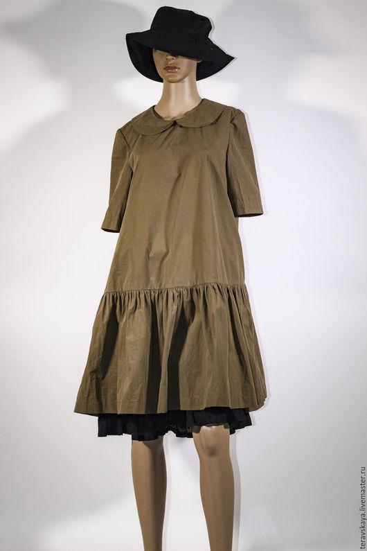 Платья ручной работы. Ярмарка Мастеров - ручная работа. Купить Платье хлопок Джоли. Handmade. Платье женское, нарядное платье