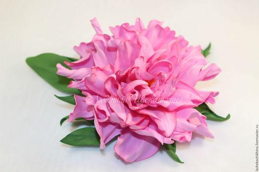 Цветы ручной работы. Ярмарка Мастеров - ручная работа. Купить Пион. Handmade. Розовый, фоамиран
