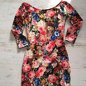 Одежда ручной работы. Ярмарка Мастеров - ручная работа Платье в стиле Dolce Gabbana. Handmade.