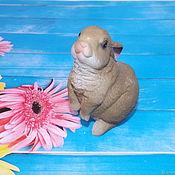 Материалы для творчества handmade. Livemaster - original item Silicone Bunny shape (3D). Handmade.