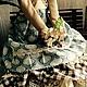Куклы Тильды ручной работы. Тильда Элен. Елена Сеченова. Ярмарка Мастеров. Купить подарок, Замша натуральная, кудри Венслидейл