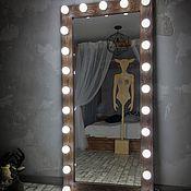 Для дома и интерьера ручной работы. Ярмарка Мастеров - ручная работа Зеркало DARK WOOD.170/80. Handmade.
