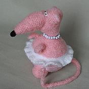 Куклы и игрушки ручной работы. Ярмарка Мастеров - ручная работа Крыса Эмилия. Handmade.