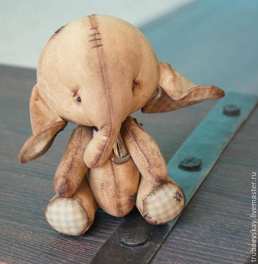 Ароматизированные куклы ручной работы. Ярмарка Мастеров - ручная работа. Купить Чердачный слон..7). Handmade. Коричневый, примитивная игрушка