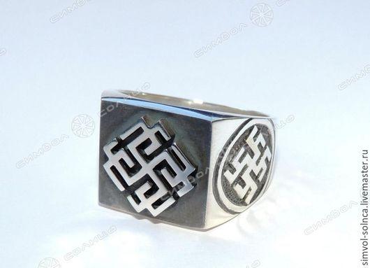 Кольца ручной работы. Ярмарка Мастеров - ручная работа. Купить Перстень №1 (символ на выбор). Handmade. Язычество, культ ра