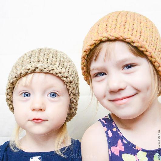 Шапочки knit4us из толстой пряжи