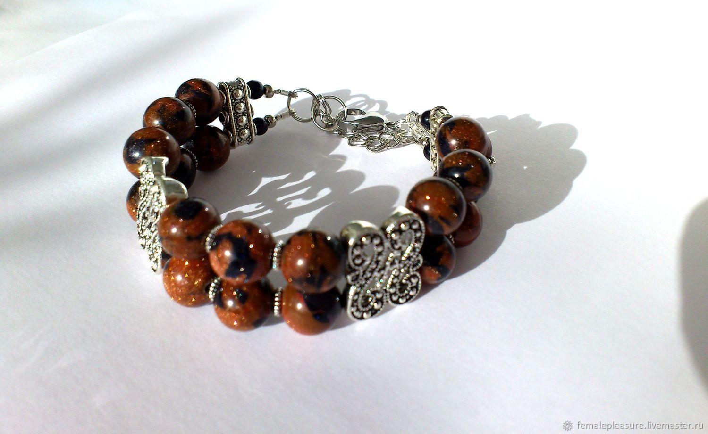 Aventurine Bracelet Jewelry Bracelets natural gems Bracelet with bico, Bead bracelet, Volgograd,  Фото №1