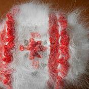 Аксессуары ручной работы. Ярмарка Мастеров - ручная работа Шапка из пуха кролика для деток от 0 до 1 года. Handmade.