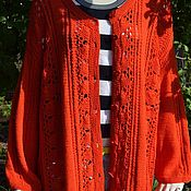 Одежда handmade. Livemaster - original item Cardigan crocheted
