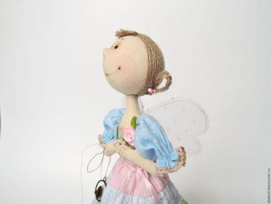 Куклы тыквоголовки ручной работы. Ярмарка Мастеров - ручная работа. Купить Кукла текстильная интерьерная. Фея Летнего Утра.. Handmade.