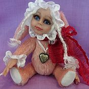 """Куклы и игрушки ручной работы. Ярмарка Мастеров - ручная работа Тедди долл """" Зайка моя Сонечка"""". Handmade."""