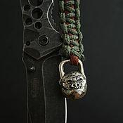 Сувениры и подарки handmade. Livemaster - original item Bead for lanyard gorilla ,bead for knife. Handmade.