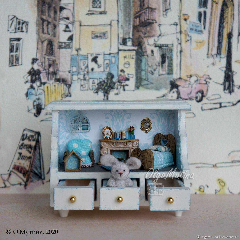 Домик-полочка с зайкой, Кукольные домики, Чебоксары,  Фото №1